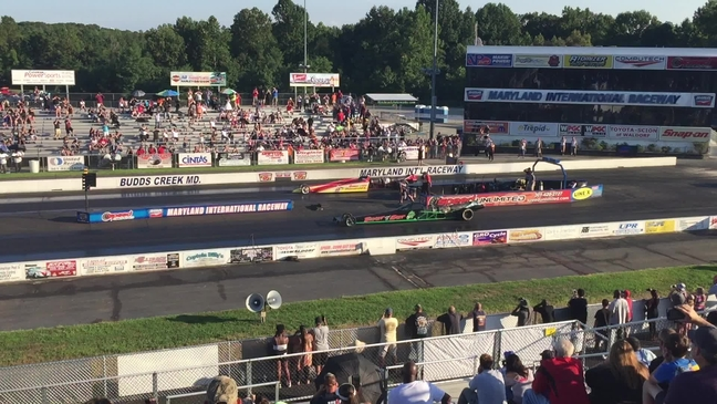 Maryland International Raceway Host The Hot Show And Race Action
