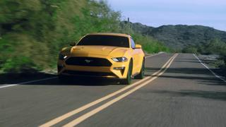 2018 Ford Mustang: Action Footage