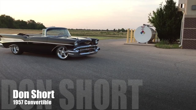 1957 chevy bel air looks awesome video thumbnail for 1957 chevy convertible sciox Choice Image