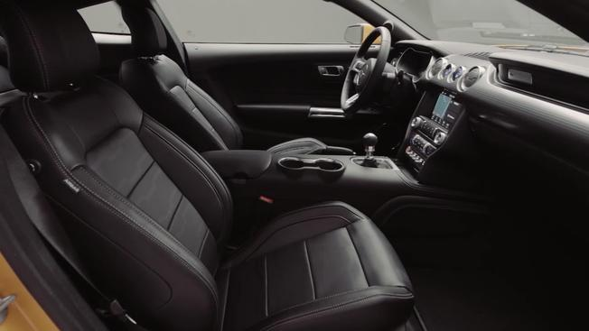 2018 ford mustang interior. fine interior video thumbnail for 2018 ford mustang first look at the allnew interior for ford mustang interior