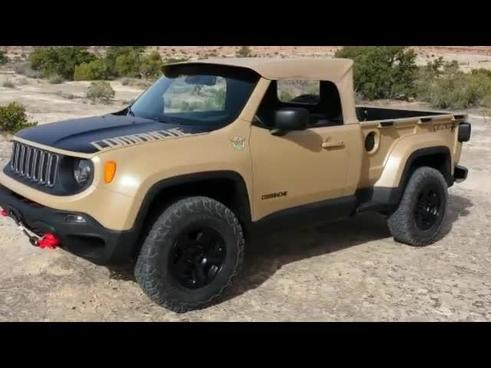 2016 Jeep Comanche >> Crazy Jeep Comanche Unveiled At Moab Ejs 2016 Day 3 Exclusive