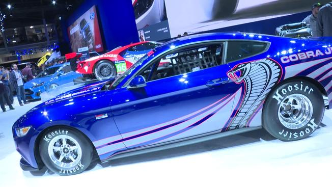 2016 Ford Mustang Cobra Jet Revealed at SEMA