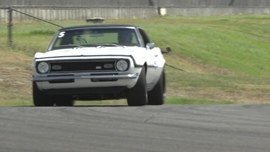 1968 Camaro fielded by Schwartz Performance at the 2017 Classic Industries Super Chevy Muscle Car Challenge Presented by Falken