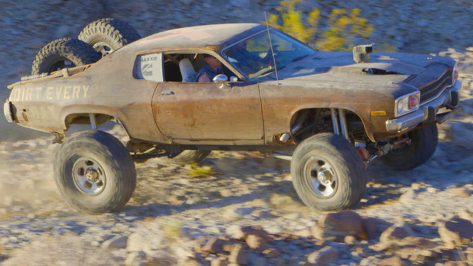 Mad Maxxis Off-Road Runner: 4x4 Muscle Car Desert Chase - Roadkill
