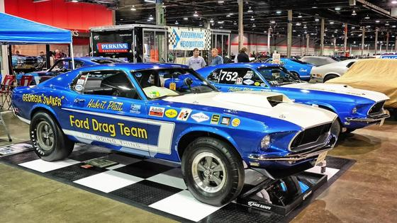 The Multi-Million Dollar 1969-70 Ford Drag Team Display