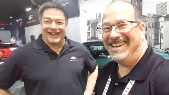 Jim Owens Ford Performance Tour Interview