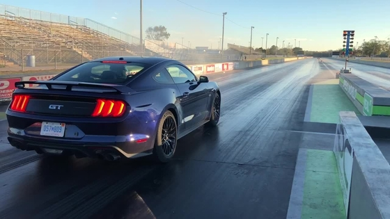 2018 Mustang Drag Strip Test