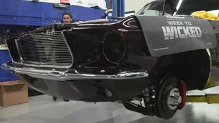 2018 Week To Wicked 1967 Mustang build, Day Four