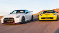 2015 Chevrolet Corvette Z06 vs. 2015 Nissan GT-R Nismo on Head 2 Head