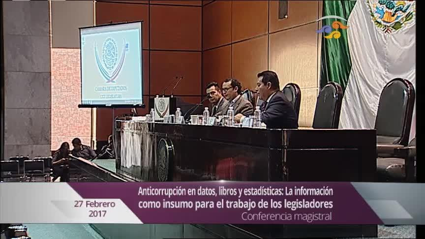 Conferencia: Anticorrupción en datos, libros y estadísticas