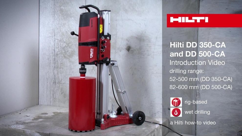 Diamond Coring Tool Dd 350 Ca Bs 110v Hilti Gb Ltd