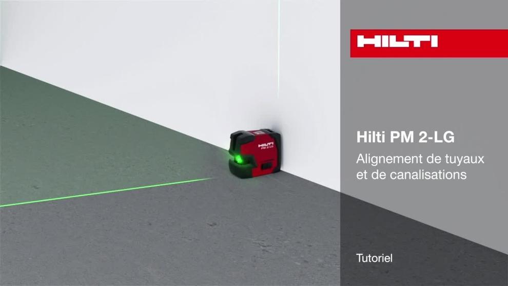 Laser ligne pm 2 lg hilti france - Comment utiliser un niveau laser ...