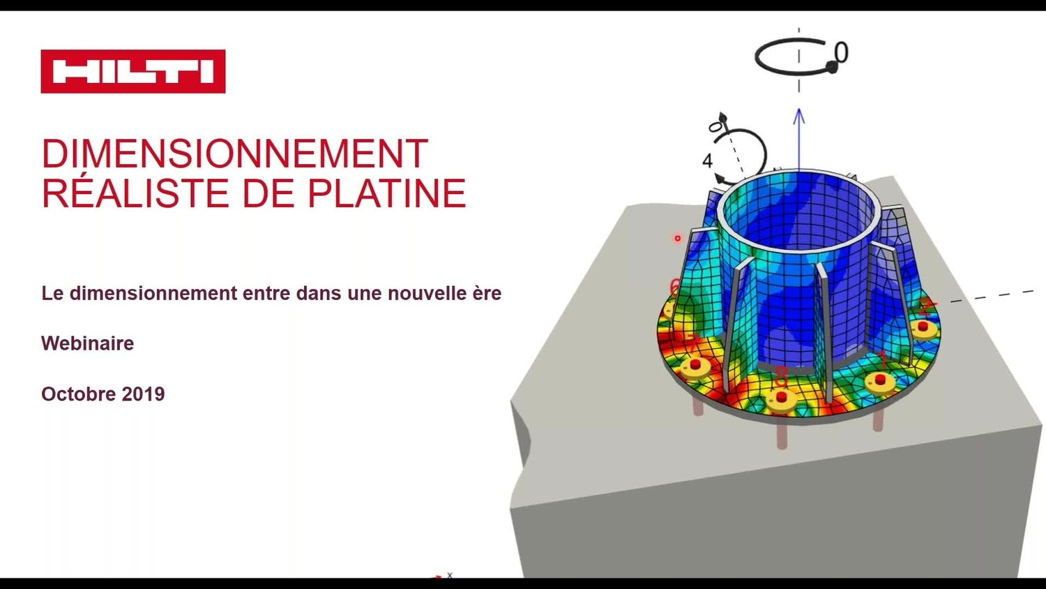 webinaire PROFIS Engineering dimensionnement platine