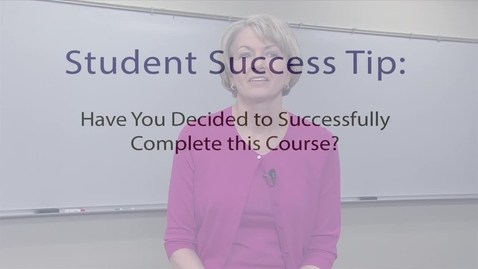 Thumbnail for entry Student Success Tips Attitude 2
