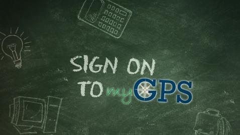 Thumbnail for entry EFSC - myGPS Tutorial׃ Login & Navigation