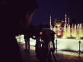 filming blue mosque