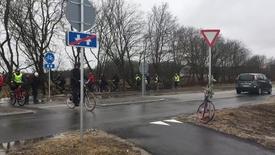 Thumbnail for entry Åbning af cykelsti ved Tim