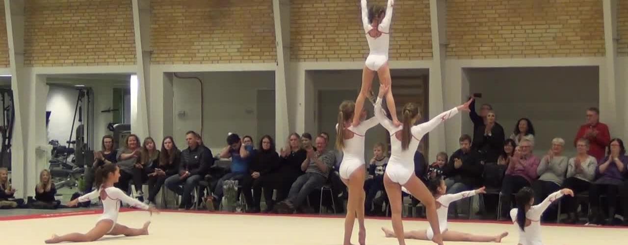 SGFs gymnastikopvisning 21. 1. 2017