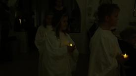 Thumbnail for entry Luciaaften på Nordstjernen