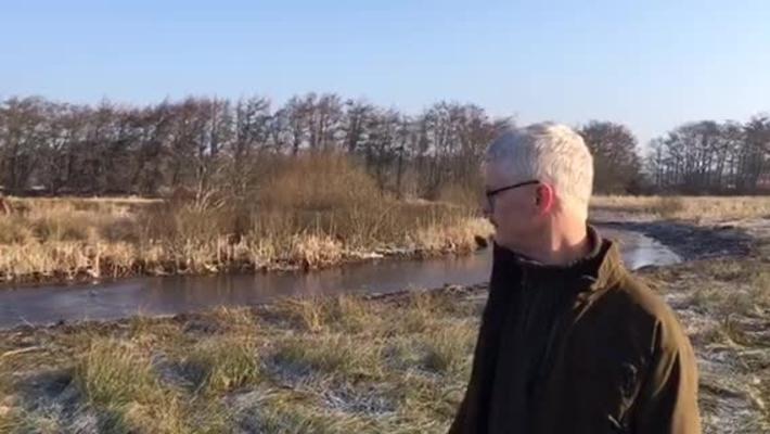 Fuld gang i oprensning af sø