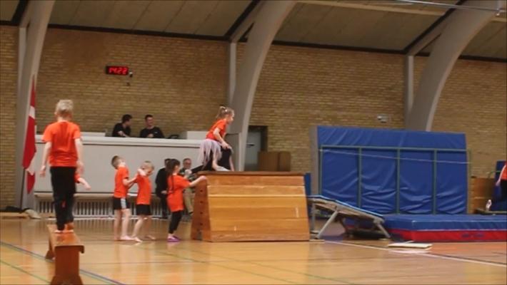 Højderyggens Gymnastikforening forårsopvisning.