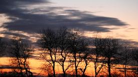 Thumbnail for entry Smuk solnedgang