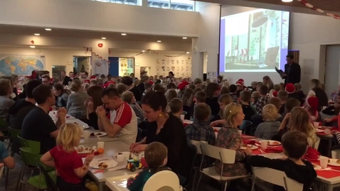 Julefrokost på Halgård Skole