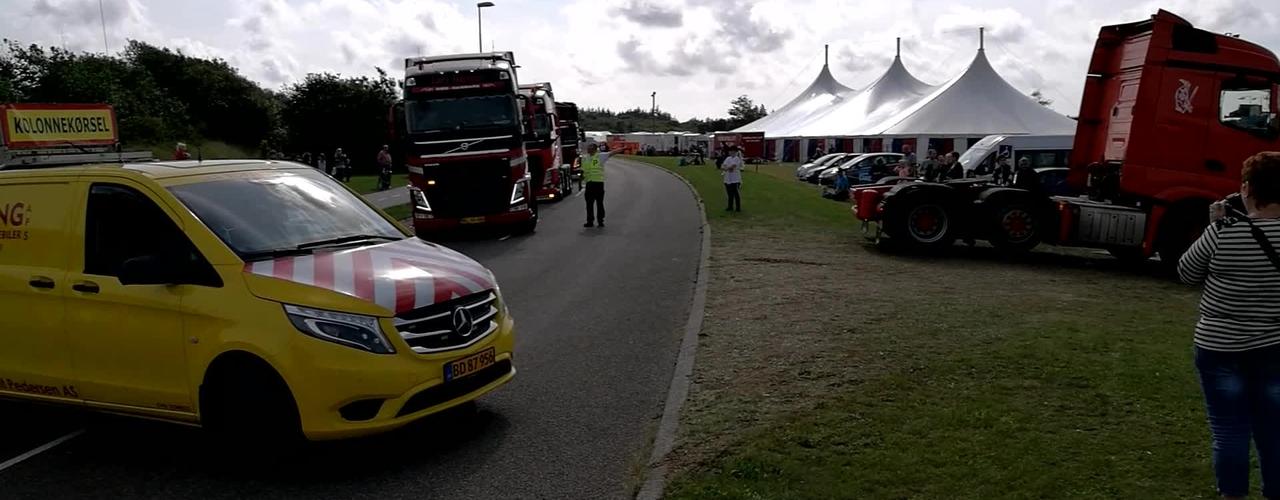 Lastbiler på Ulfborg Marked 2017