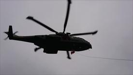 Thumbnail for entry Hvide Sande Redningsbåd Emile Robin på øvelse med Redningshelikopteren