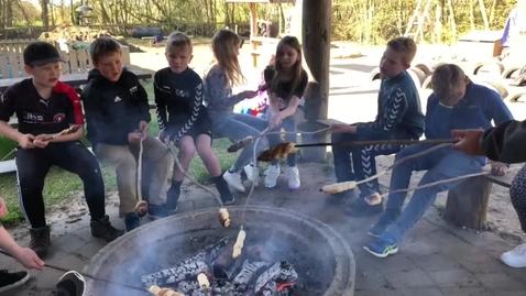 Arbejdslørdag og skoledag på Bodum Ydby Friskole og børnehuset Frihaven i Ydby Thy