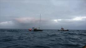 Thumbnail for entry Sejlbåd i nød ca 16 sømil vest af Hvide Sande