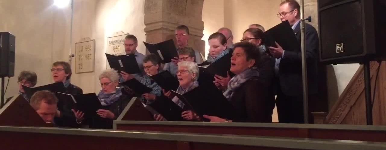 Påskeord og toner i Sædding kirke