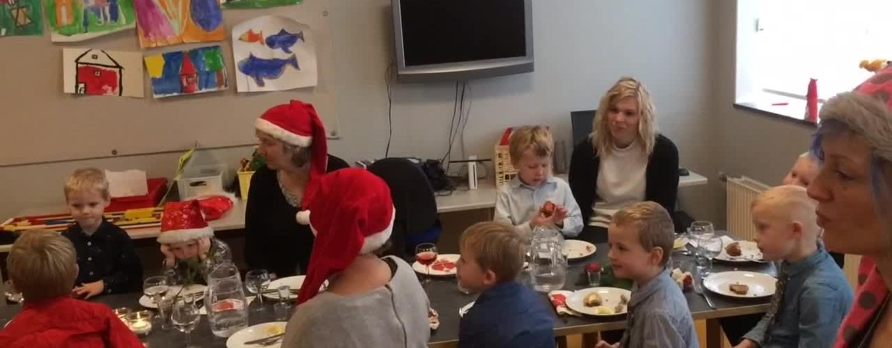 julefrokost i Nr. Vium børnehus