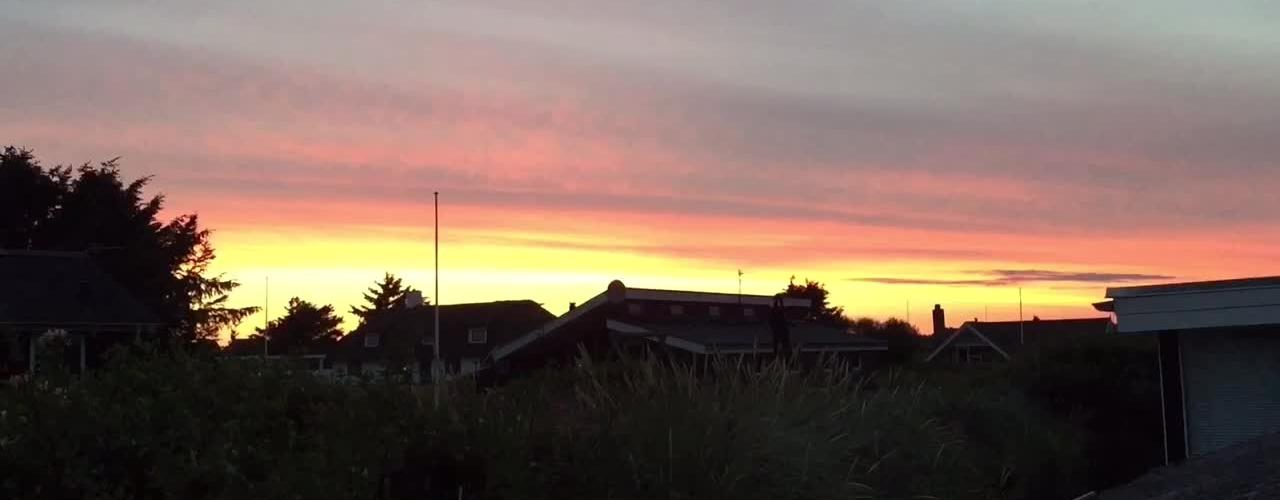 Solnedgang i Søndervig.