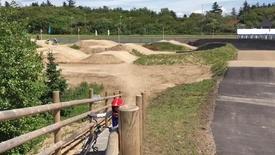 Thumbnail for entry Baneindvielse på Thy BMX klub i Ydby