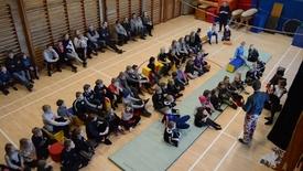 Thumbnail for entry Prisfest for børn og unge i Nr Vium Sports & Kulturcenter