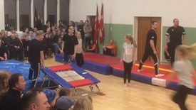 Thumbnail for entry Gymnastik Opvisning i Nr Vium Sports & Kulturcenter