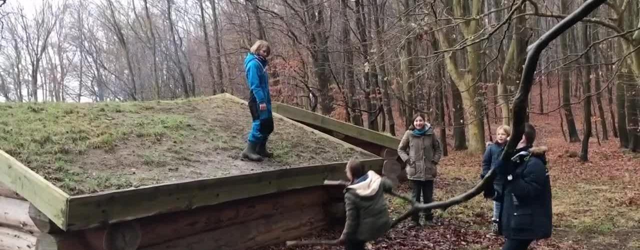 Vordingborg Søspejdere på vintertur på Camønoen