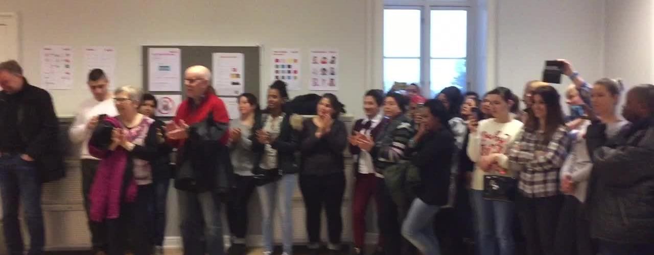 åbent hus A2b sprogcenter i Haslev
