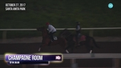 Champagne Room Worked 5 Furlongs in :59.80 at Santa Anita Park on October 27th, 2017