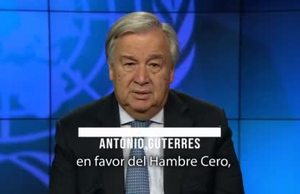 UN Secretary-General Video Message on WFD 19  Spanish