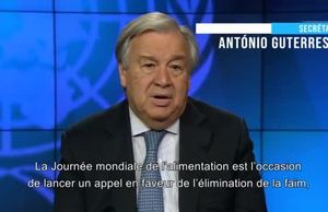 UN Secretary-General Video Message on WFD 19  French