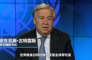 UN Secretary-General Video Message on WFD 19  Chinese
