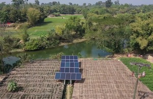 FAO: Adopting green technologies - Solar irrigation systems to prevent water scarcity and reduce carbon emissions in Cox Bazar, Bangladesh