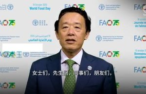 Video Message by FAO Director-General QU Dongyu (Chinese)
