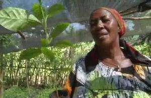 Betty Ndugga, a female entrepreneur in Uganda
