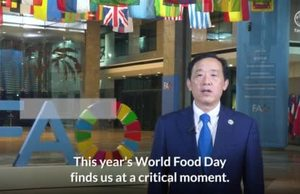 World Food Day 2021: Video message by FAO Director-General