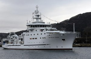 The new Nansen research vessel sets sail
