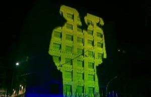 World Food Day 2020 video mapping show VNR
