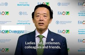 World Food Day 2020: Video message by FAO Director-General (English)